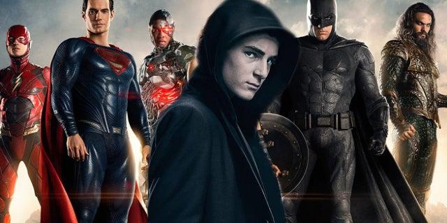 Mazouz Justice League