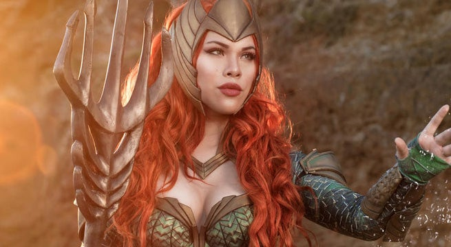 mera cosplay   justice league  4 by raquelsparrowcosplay-Snap-Happy-Ian