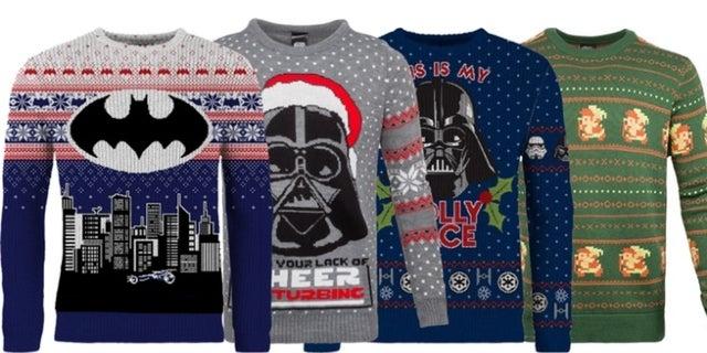 exclusive deal save 40 on star wars batman and zelda christmas sweaters - Legend Of Zelda Christmas Sweater