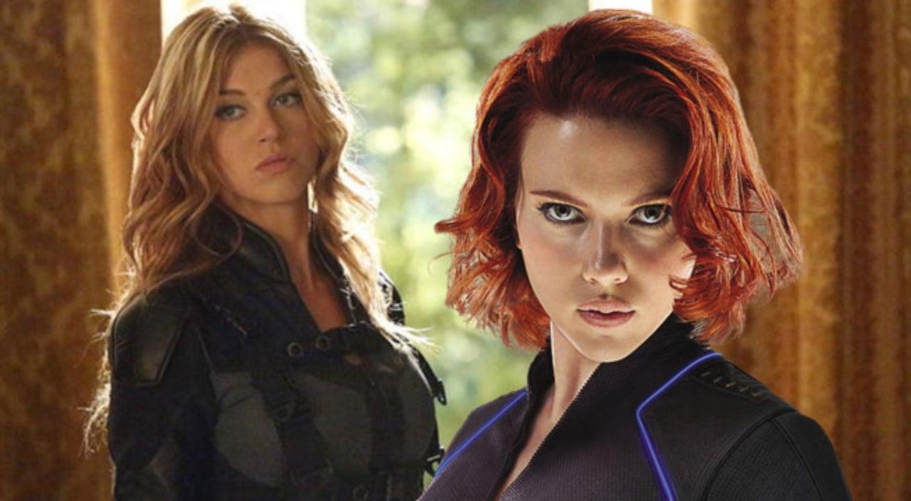 Adrianne Palicki Wants Mockingbird to Team Up With Black Widow in
