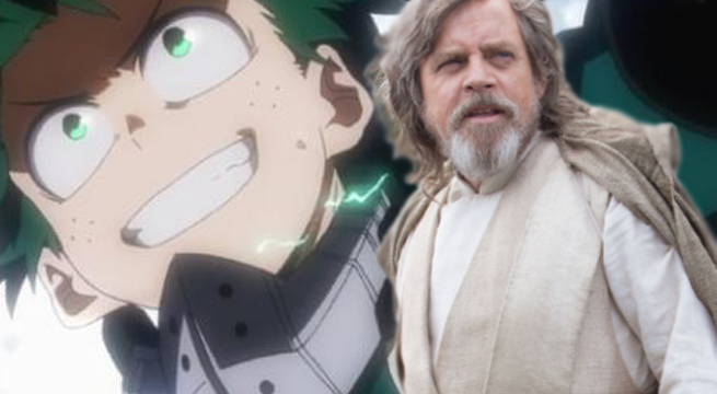 my hero academia star wars
