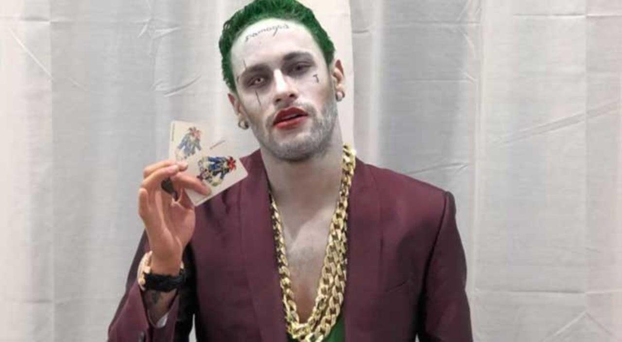 Suicide Squad Joker Halloween Costume.Neymar Dresses As Suicide Squad Joker For Halloween