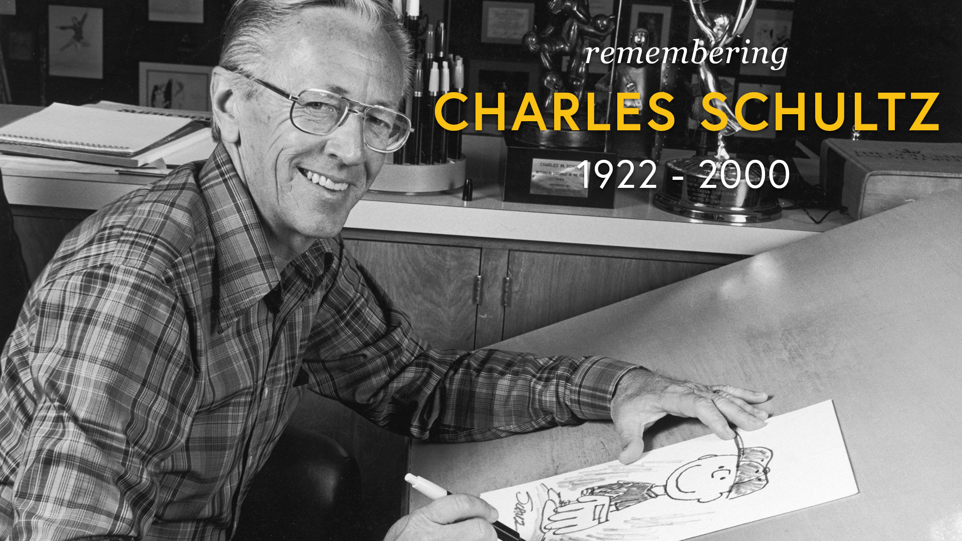 Remembering Charles Schultz screen capture