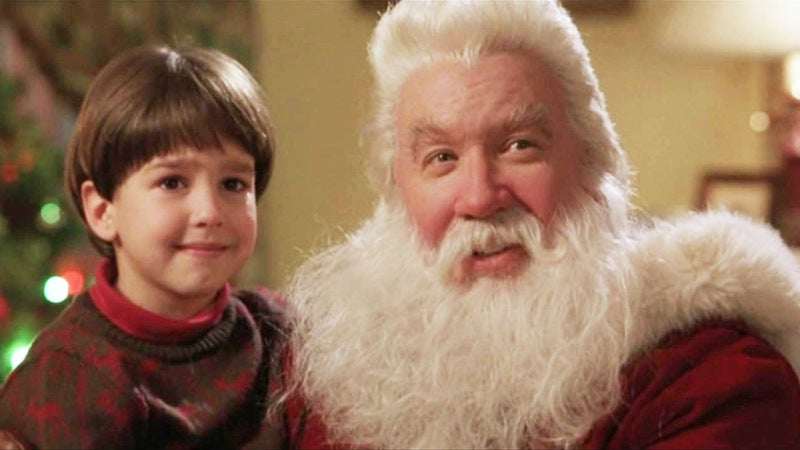 santa clause disney christmas