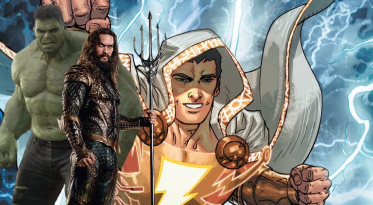 Shazam Hulk Aquaman comicbook.com