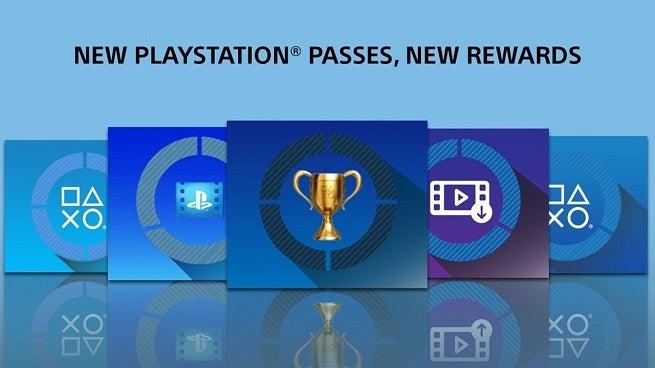 Sony Rewards Trophies