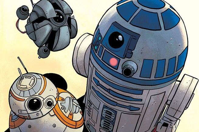 """Star Wars Comics - C-3PO """"title ="""" Star Wars Comics - C-3PO """"height ="""" 434 """"width ="""" 655 """"data-item ="""" 1061328 """"/ > [19659005] Drops Unplugged </i> # 1 </p> <p>  <b> Words and Art by </b> Chris Eliopoulos </p> <p>  <b> Colors by </b> Jordie Bellaire </p> <p>  Ages can be a bad word for some elements of fandom, but it really should not be. <em> A New Hope </em> is a movie for all ages full of wonder, joy and important morality.That is the same spirit that can be found in the work of the cartoonist Chris Eliopoulos in Star Wars: Eliopoulos initially created a series of mostly silent backup features for the ongoing series, each of which featured a different droid from the far, far universe, short stories were so popular that later they were collected at one time to bring these extravagant stories. </p> <p>  We defend Eliopoulos as the best artist in Star Wars because of his unique approach to original material and understanding of key issues. It is another point where we will be absolutely attentive. Each of these stories is a delight and can be shared with fans who watched the first movie in 1977, as well as with young people who are not yet ready to sit quietly in the movies. These stories are fun and full of hope, which is just what we need from Star Wars at this time. </p> <p><svg role="""