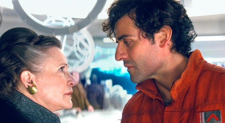star-wars-the-last-jedi-carrie-fisher-oscar-isaac