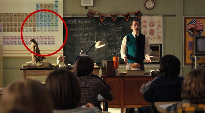 stranger things periodic table mistake