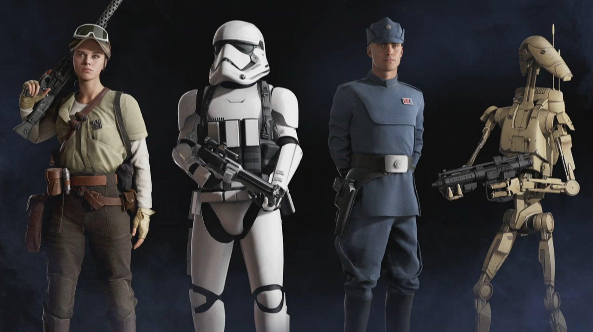 Nude Grievous 2.0 at Star Wars: Battlefront II (2017
