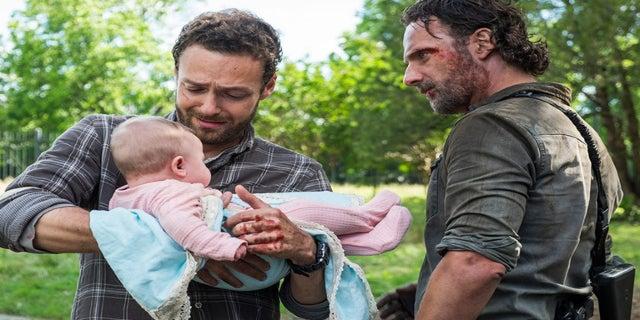 The Walking Dead Gracie Rick Aaron