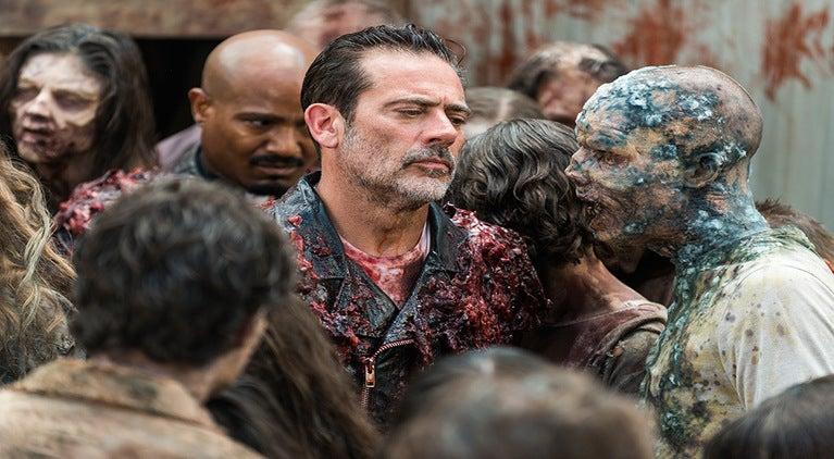 The Walking Dead Negan Father Gabriel