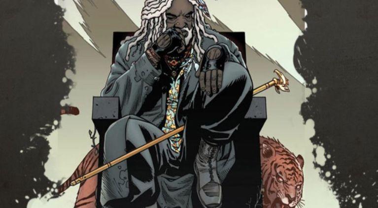 The Walking Dead Shiva Ezekiel