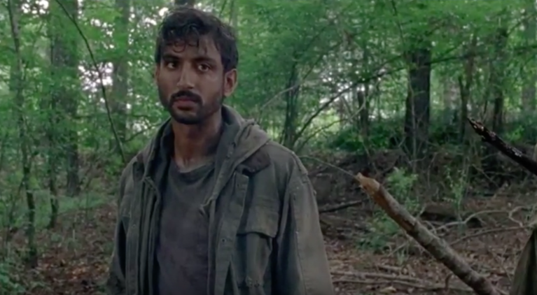 The Walking Dead Siddiq Avi Nash