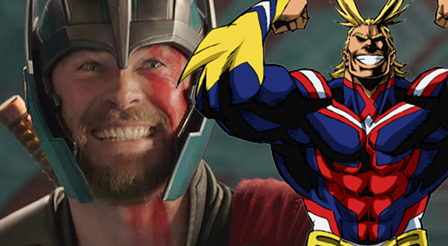 thor all might