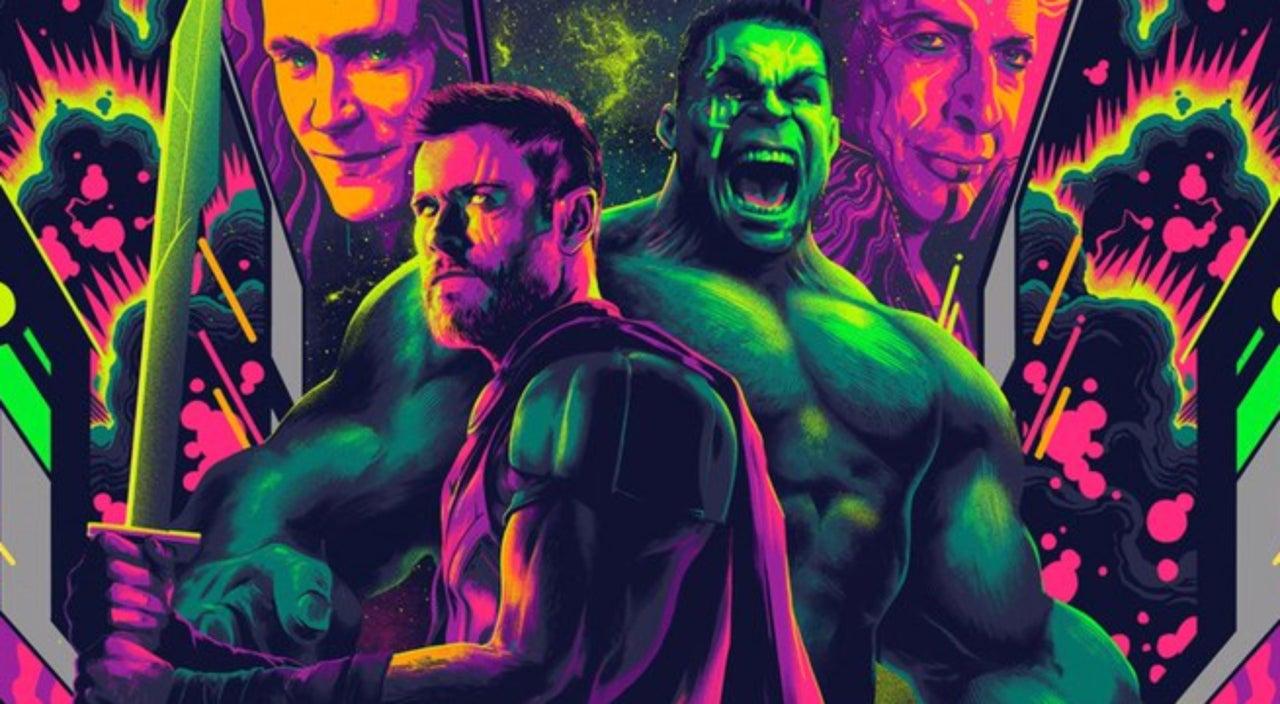 Mondo Unveils Stunning Thor Ragnarok Poster