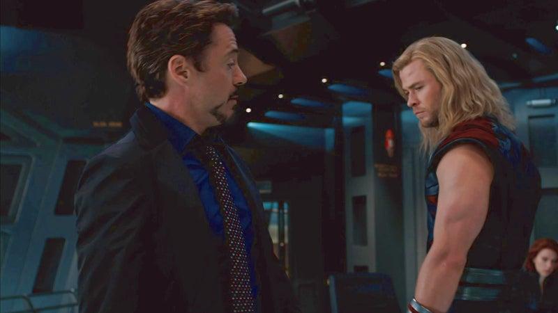 Thor Ragnarok Point Break Avengers Joke Easter Egg