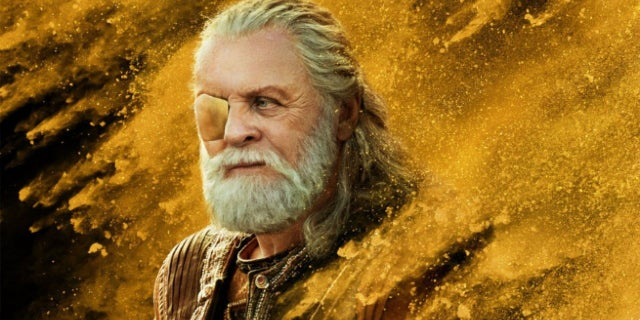 Thor Rangarok Odin's Death Scene