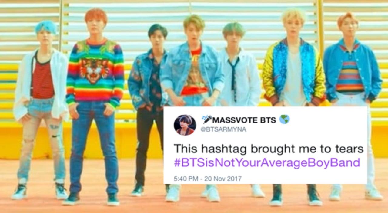 Trending Hashtag Sees K-Pop Fans Explain Why BTS Isn't Your