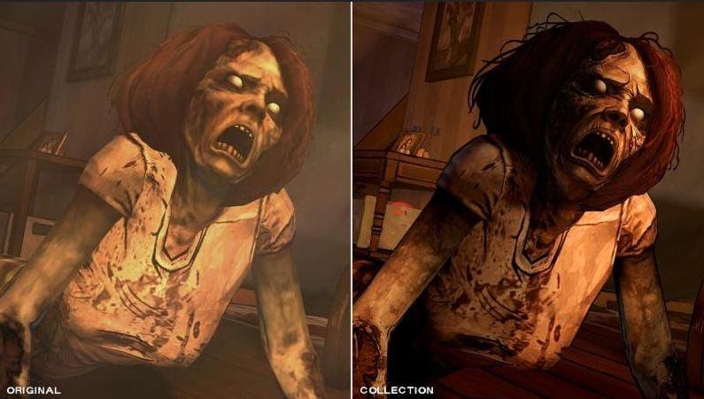 Walking Dead Comparison