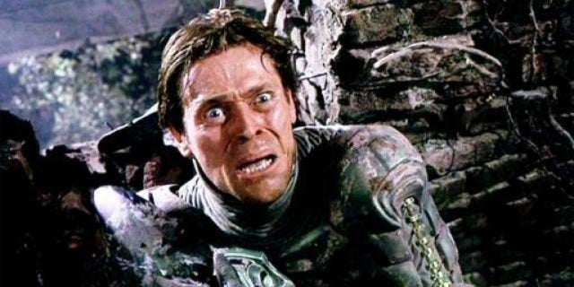 willem dafoe spider-man green goblin