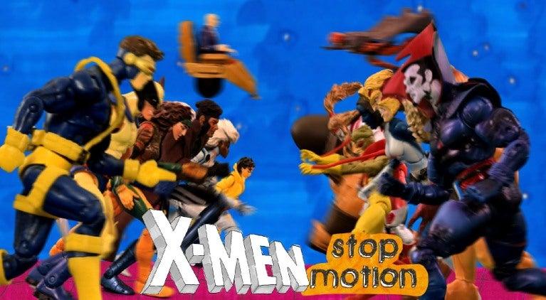 X-Men stop motion