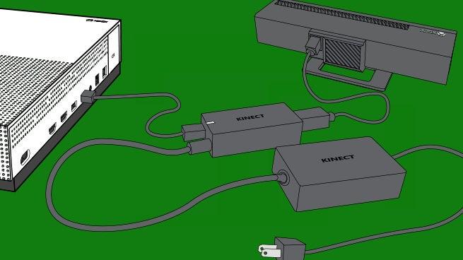 Xbox One X Kinect