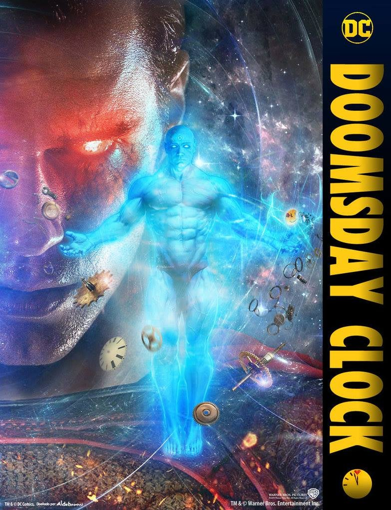 Fan Makes Zack Snyder Inspired Doomsday Clock Movie Poster