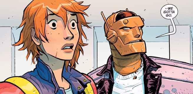 10 Superhero Artists to Watch - Nick Derington