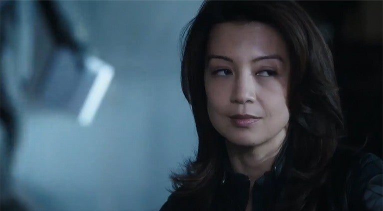 agents of shield may space ship