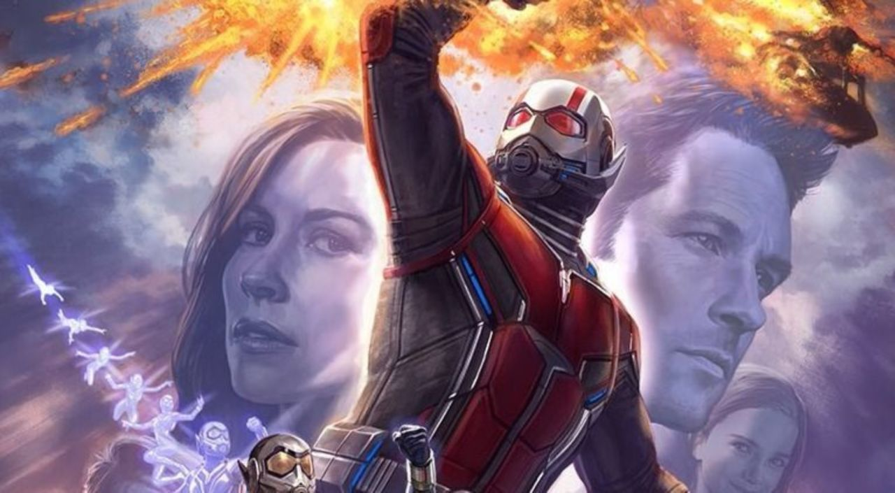 New Ant Man And The Wasp Poster Released