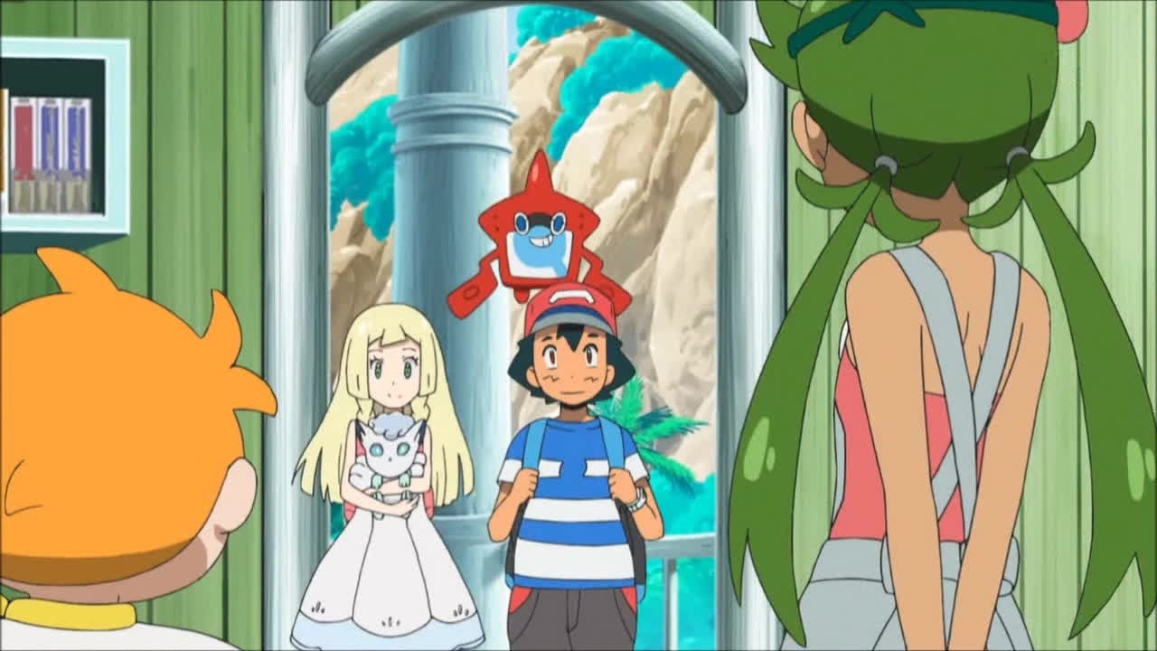 ash and lillie