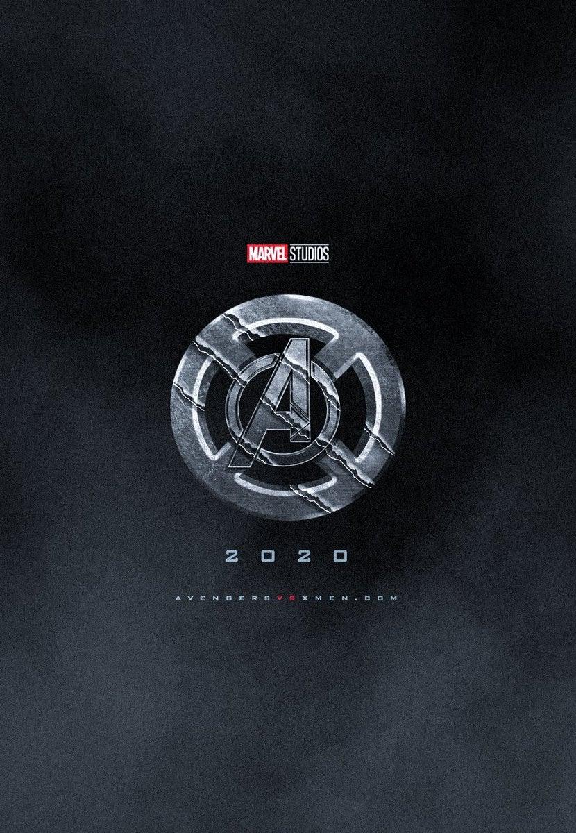 avenger vs xmen movie logo