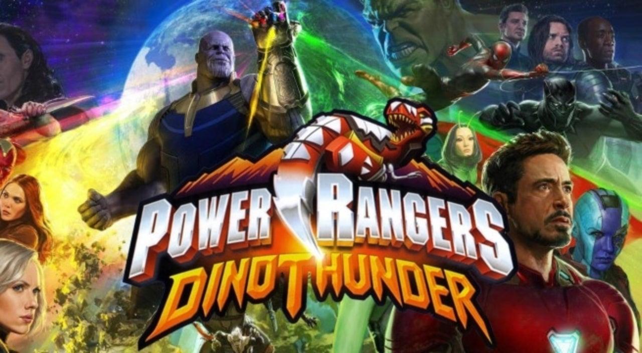 Avengers: Infinity War Trailer Gets A Power Rangers Dino