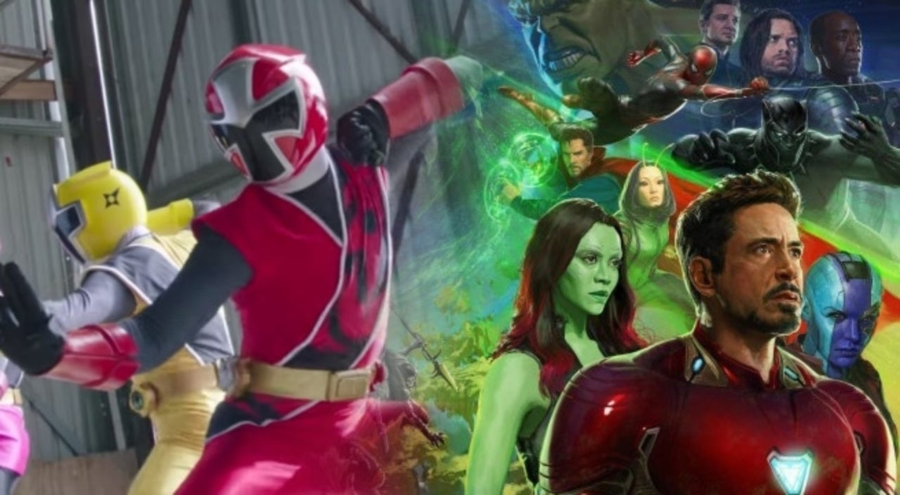 Infinity War Fan Trailer Is The Power Rangers Ninja Steel Avengers Team-Up You Didnu0027t Know You Wanted  sc 1 st  Comic Book & Infinity War Fan Trailer Is The Power Rangers Ninja Steel Avengers ...