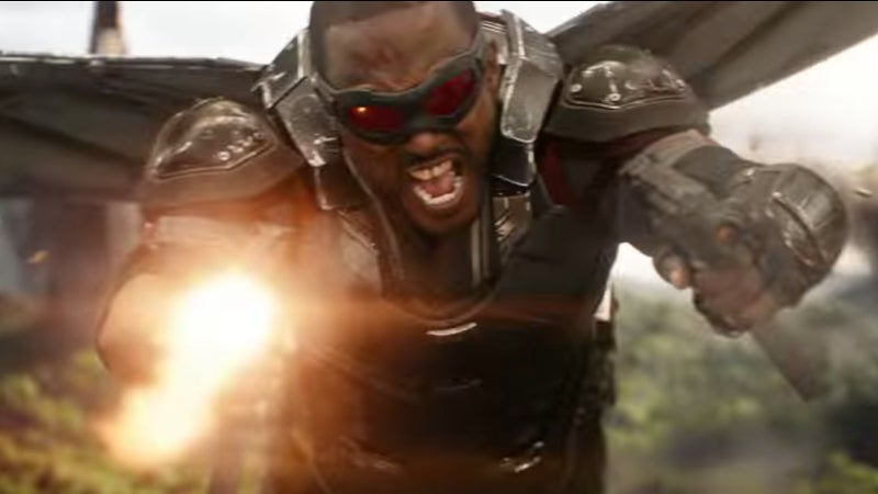 Avengers Infinity War Trailer Characters - Falcon