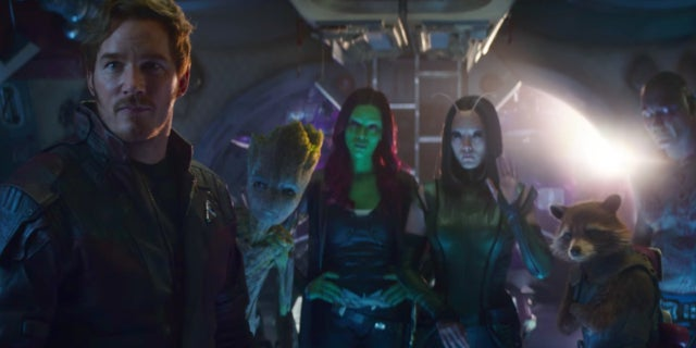 Avengers Infinity War Trailer Characters - Guardians of the Galaxy