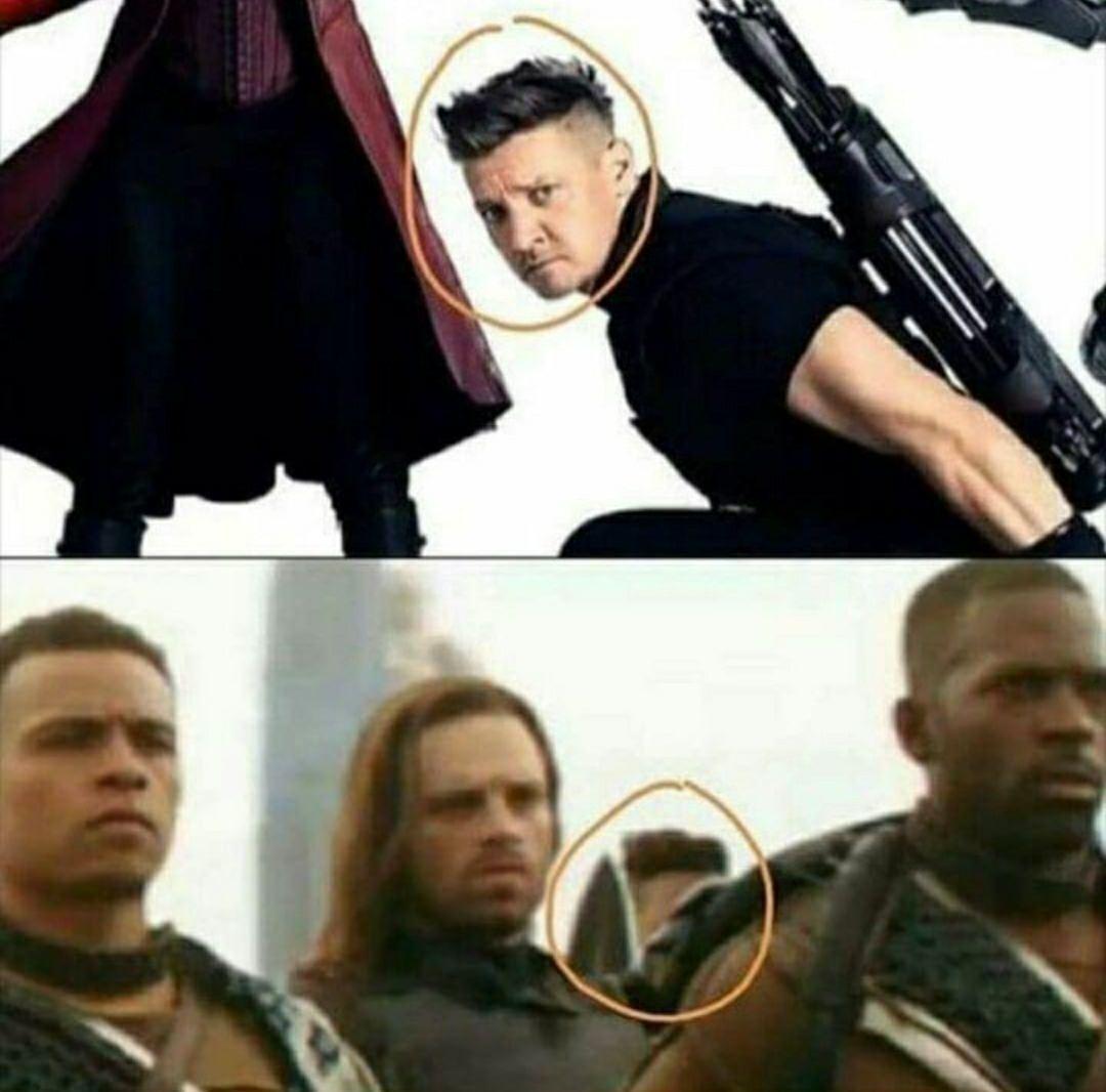 Avengers Infinity War Trailer - Is This Hawkeye
