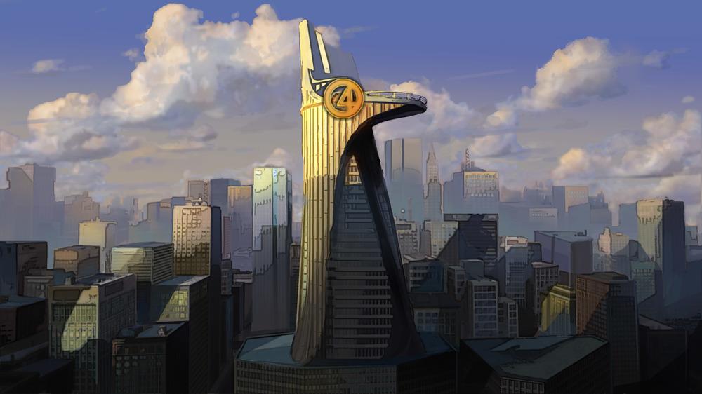 Avengers Tower Baxter Building Fox Disney Deal Meme