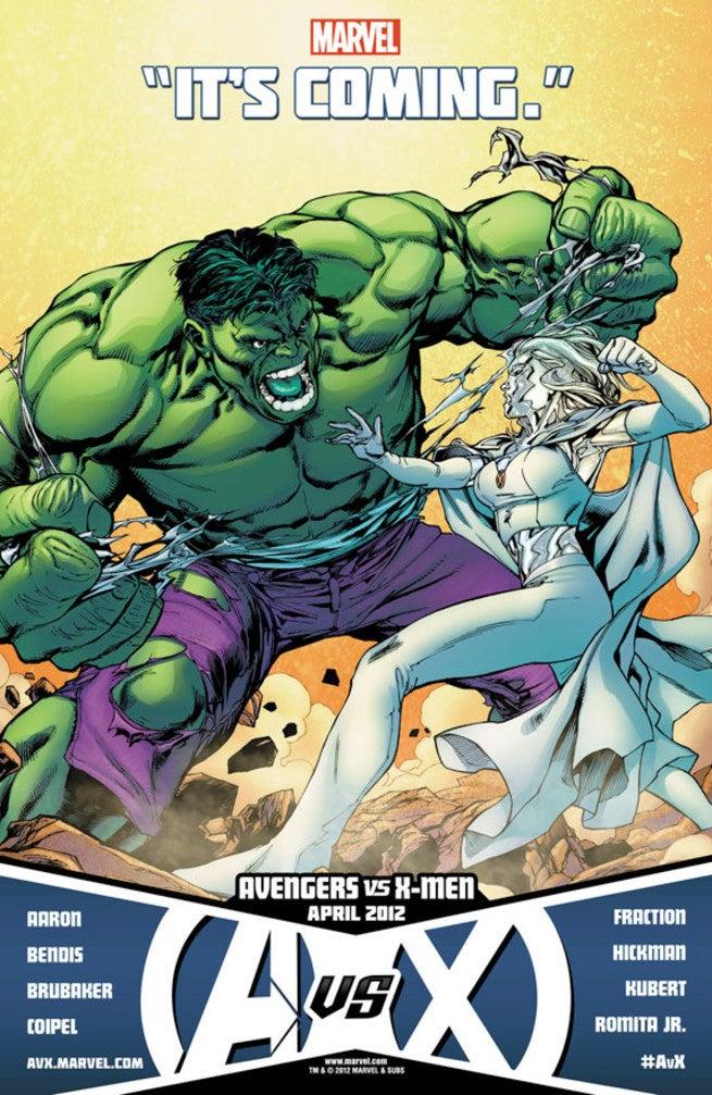 Avengers X-Men - Fox Disney - The Hulk Vs Emma Frost