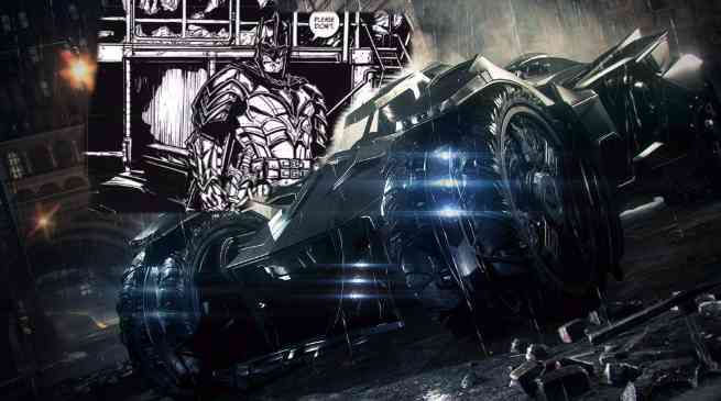 Batman 39 Arkham Knight Batmobile