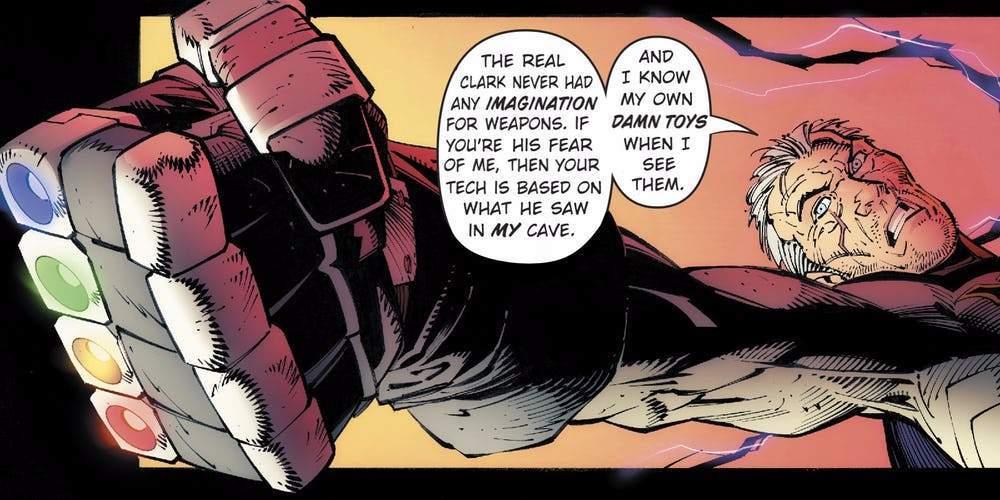 batman infinity gauntlet metal