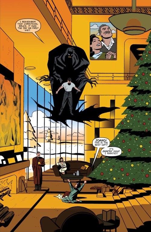 batman: ego christmas at Wayne Manor