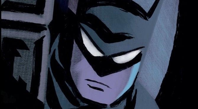 batman ego cover by Darwin Cooke