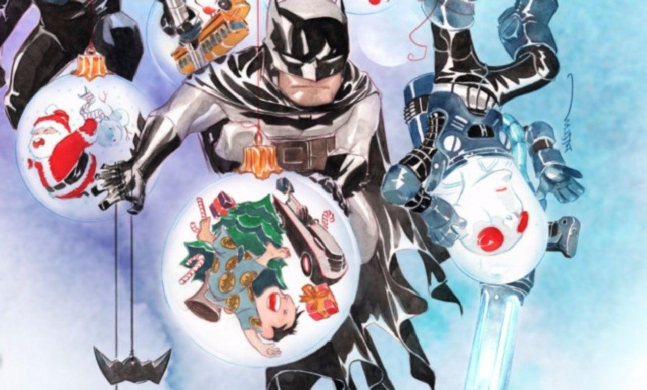 Christmas Comics.The 5 Best Christmas Superhero Comics