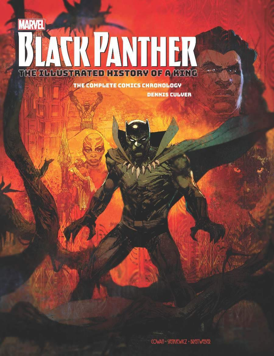 Black Panther The Illustrated History of a King cover