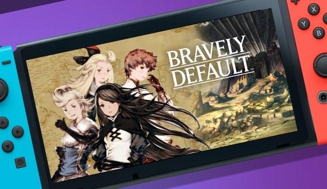 bravely default switch