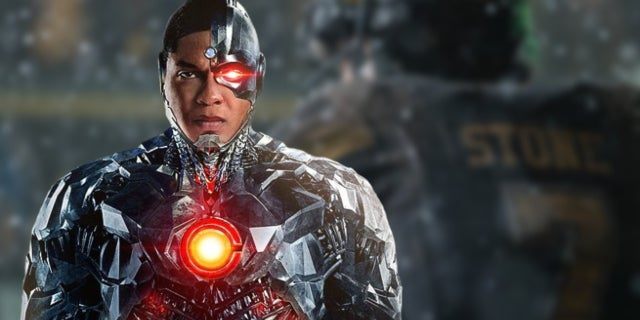 cyborg justice league football behind the scenes