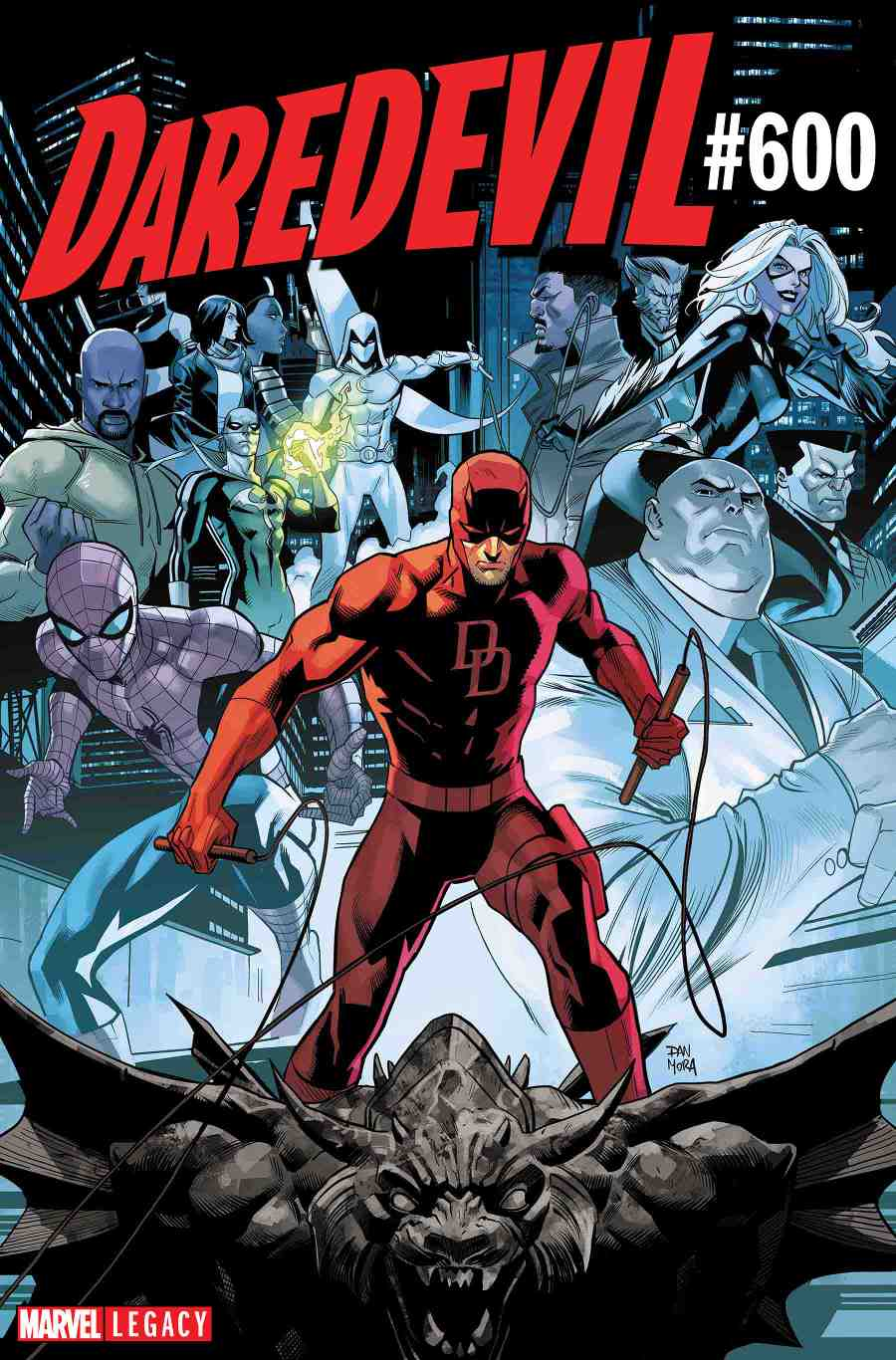 Daredevil 600 Cover