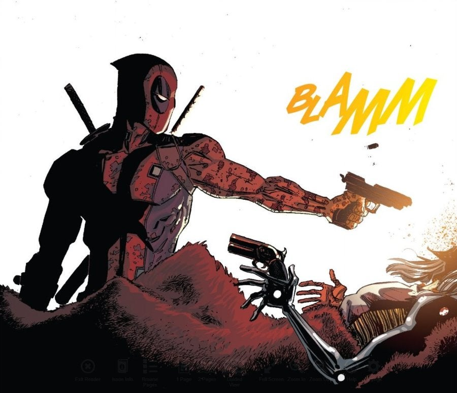 Deadpool Cable Death